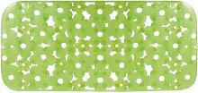 Gelco Design 707569 Badematte, rutschfest, 72,5x34,5cm, Grün / Daisy Green