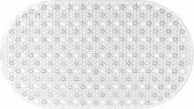 Gelco Design 707643 Badematte, rutschfest, 39x69cm, Glossy Transparen