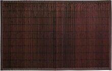 Gelco Design Okaido 705362 Badematte, 50x80 cm, kleine Lamellen, Farbton Wengé