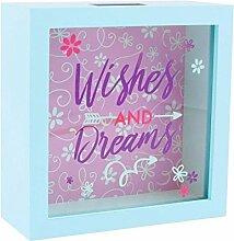 Geld Spardose 'Wishes und Dreams'