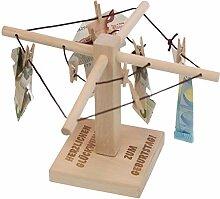 Geld-Wäschespinne zum Geburtstag: Geld originell