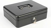 Geldkassette Metall Tresor Safe Spardose 30x24x9cm XXL V 17