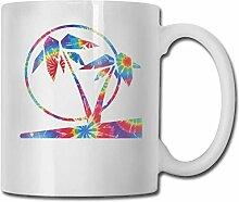 Gelegentliche Färbung Tropical Palm Tree Fashion