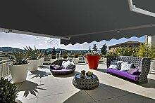 Gelenkarmmarkise Markise Sonnenmarkise Sonnenschutz 3 x 2,5 m Alu / Polyester