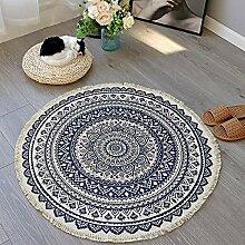 Geling Mandala Runde Teppich Tapisserie Yoga Matte