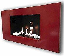 Gelkamin Kaminofen Modell Roma Rot + gratis 12