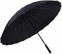 Gelory Stahl-Reise-faltender Sonnenschutz-Regenschirm Automaitc windundurchlässiger Regenschirm mit Vinyl gedrucktem im Freien und Auto-Gebrauch für Damen oder Männer (Black)