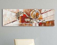 Gemälde Abstrakte Kunst East Urban Home