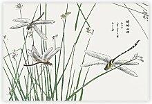 Gemälde Dragonflies