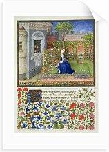 Gemälde Emilia in Her Garden Lily Manor Format: