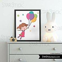 Gemälde für Baby und Kinder - Mädchen mit