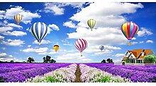Gemälde für Erwachsene, mit Lavendel- und