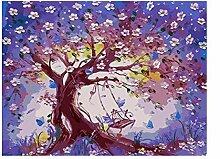 Gemälde Nach Zahlen Naturwald