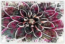 Gemälde Pink Dahlia Flower Big Box Art