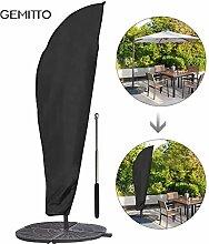 GEMITTO Sonnenschirm Schutzhülle mit Stab,