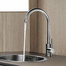 Gemüse Bassinhahn/Warme und kalte Küche Wasserhahn/Basin Spültischarmatur Rotation Haushalt-A