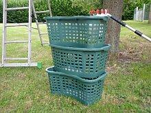 Gemüsekiste Kunststoffbehälter Wäschekorb