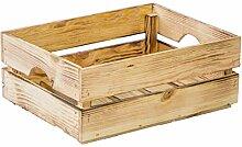 Gemüsekiste Stapelkiste Stapelbox Holzkiste