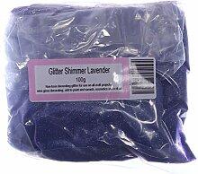 Gemz Shimmer High Sparkle Glitzer Craft, Lavendel,