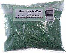 Gemz Shimmer High Sparkle Glitzer Craft, Pastell