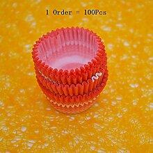 Generic 100/lot Hot Home Supplies Tablett Gebäck Kuchen Kuchen Cups erfrischungsgetränks Tart Papier Pad Küche Zubehör Kochen Werkzeuge