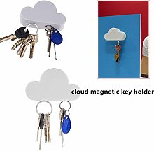 Generic 2016Neue Arrivial Praktische Cloud Form Magnete Schlüsselhalter Suck Rack Kleiderbügel Creative