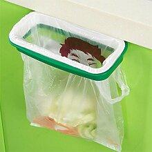 Generic 2017Hot Umweltfreundlich Garbage Bag Ständer Katzenstreu Halter Küche Schrank Schublade Tür Abfalleimer Eimer Mülleimer Neuheit Produk