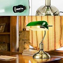 Generic Bankerlampe Klassiker Schreibtischlampe