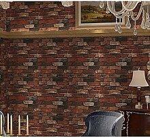 Generic Brick Tapete für Home Klassische Wandverkleidung, PVC/Vinyl Material Kleber erforderlich, Tapete Zimmer tapetenherstellung # 05306800