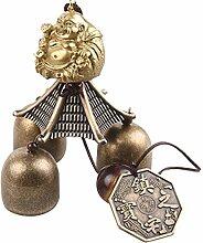 Generic Chinesisch Windspiel mit Metall-Glocke