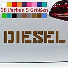 Generic Diesel Aufkleber Feinstaub VW Audi