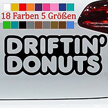 Generic Drifting Donuts JDM Aufkleber Gummi Tuning