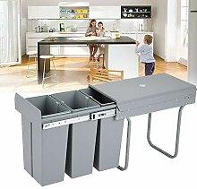 Generic Einbaumülleimer Küche, Abfallsammler