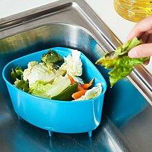 Generic Grün, 4L: Kitchen Kleine Spüle Trash Box nützlich, um erhalten Garbage Regal Fruit Filtern der popurality Küche Zubehör Aufbewahrung Werkzeuge