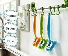 Generic Grün: Neue Küche Magic abwischbares Pinsel Wash Reinigung Werkzeug Waschen Make-up-Pinsel diagnostic-tool Grill die Ware für Küche von