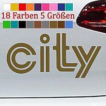 Generic Kadett c City Aufkleber Opel Tuning