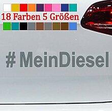 Generic #MeinDiesel Aufkleber Hashtag Dieselgate