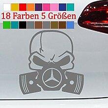 Generic Mercedes Skull Totenkopf Piston Gas Mask