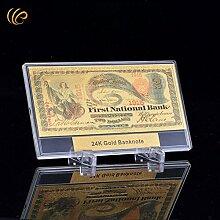 Generic mit 24Karat-Gold mit 100-Dollar-Stil
