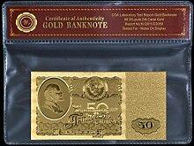 Generic mit Gold-zum 100-Set ruble Gold Folie