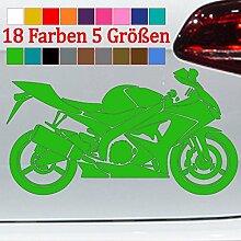 Generic Motorrad Silhouette Aufkleber Honda GSX