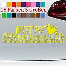 Generic Not My Boyfriend Car JDM Decal Tuning