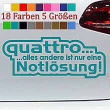 Generic Quattro Notlösung Audi A5 A6 A8 Q5 Tuning
