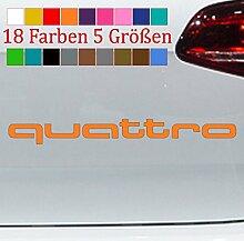 Generic Quattro Schriftzug Audi Aufkleber