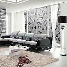Generic Statische, Haarverdichtung Küche Badezimmer Wärmedämmung Fenster violett matt Sichtschutz Fensterfolie Sichtschutzfolie 60cm x 300cm