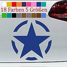 Generic Stern Aufkleber Jeep Army VW Golf GTI Tank