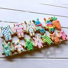 Generic Tiere Form Biscuit Werkzeuge aus Metall Edelstahl Ausstechformen Gebäck Dekoration Form