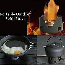 Generic Tragbarer Outdoor Mini Grill Spirit Gasbrenner für Wandern Camping