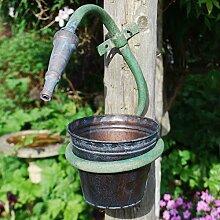 Generic ukyc150625–001< 1& 3845* 1> holderl montiert G Wand montiert klein Metall Garten Schlauch Design Blumenkübel Halter klein Metall