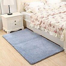 Generic Weiche Shaggy Teppich für Wohnzimmer Home Warm Plüsch Fußboden Teppiche Teppich flauschig Mats